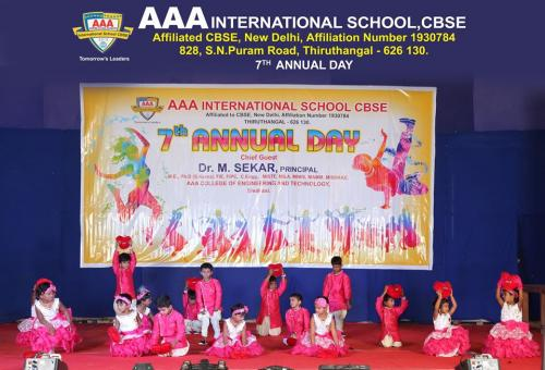7th Annual Day
